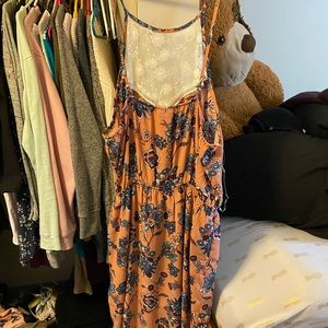 Romper with skirt